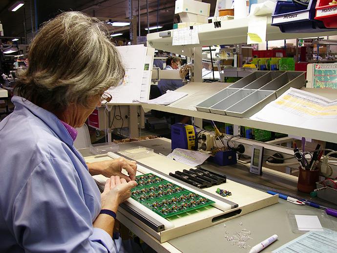 SODALEC – Réorganisation de l'atelier